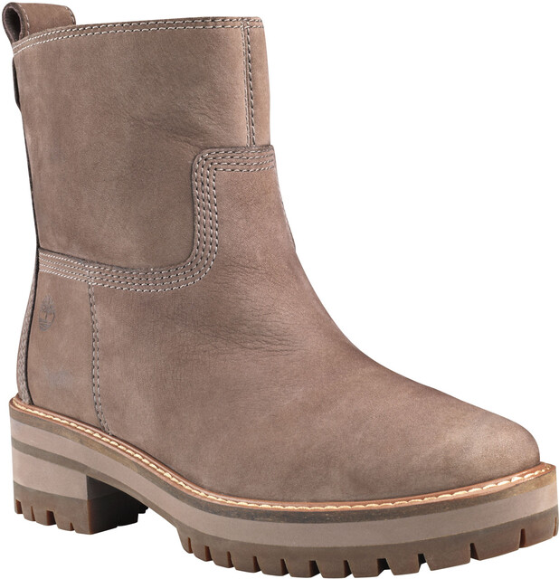 Timberland Courmayeur Valley Faux Fur Buty Kobiety, taupe gray